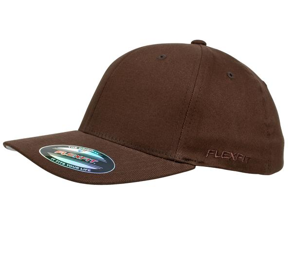 Flexfit 6277 Perma Curve Cap Brown