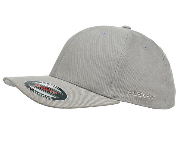 Flexfit 6277 Perma Curve Cap Grey