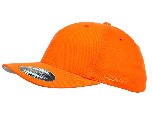 Flexfit 6277 Perma Curve Cap Orange