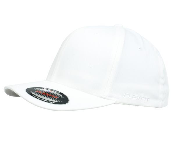 Flexfit 6277 Perma Curve Cap White