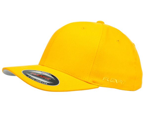 Flexfit 6277 Perma Curve Cap Yellow