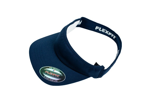 8777 Flexfit Visor - Navy