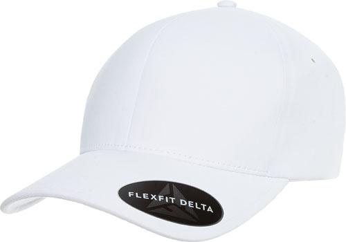 c6e665e1483 180 Flexfit Delta - WHITE » Flexfit Caps Australian Wholesale Supplier