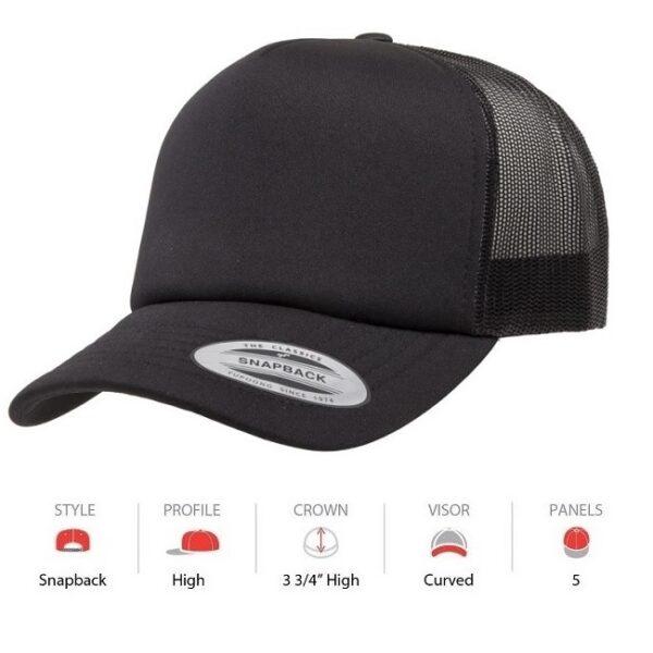 6320 Yupoong foam front cap